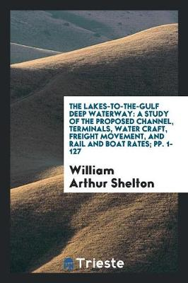 The Lakes-To-The-Gulf Deep Waterway: A Study of the Proposed Channel, Terminals, Water Craft, Freight Movement, and Rail and Boat Rates; Pp. 1-127 (Paperback)