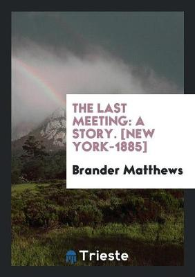 The Last Meeting: A Story (Paperback)