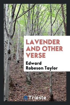 Lavender and Other Verse (Paperback)