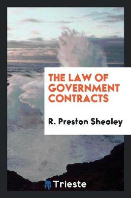 The Law of Government Contracts (Paperback)