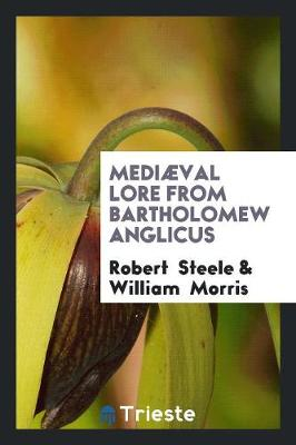 Medi val Lore from Bartholomew Anglicus (Paperback)