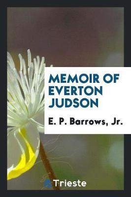 Memoir of Everton Judson (Paperback)