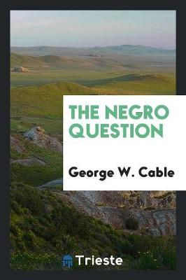 The Negro Question (Paperback)