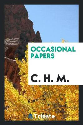 Occasional Papers (Paperback)
