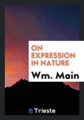 On Expression in Nature (Paperback)