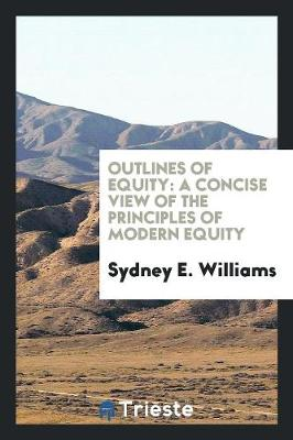Outlines of Equity: A Concise View of the Principles of Modern Equity (Paperback)