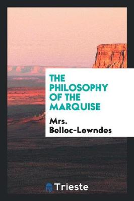 The Philosophy of the Marquise (Paperback)