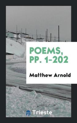 Poems, Pp. 1-202 (Paperback)