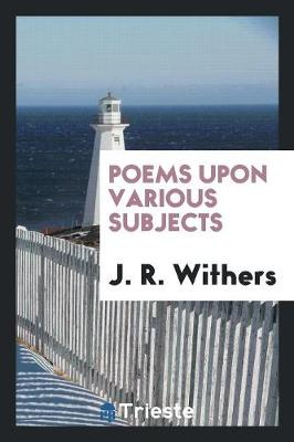 Poems Upon Various Subjects (Paperback)