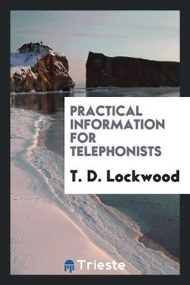 Practical Information for Telephonists (Paperback)