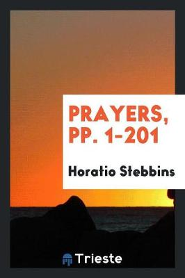 Prayers, Pp. 1-201 (Paperback)