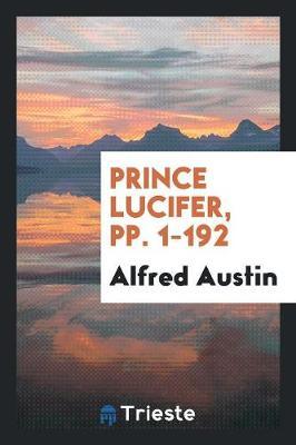 Prince Lucifer, Pp. 1-192 (Paperback)
