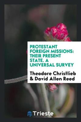 Protestant Foreign Missions: Their Present State. a Universal Survey (Paperback)