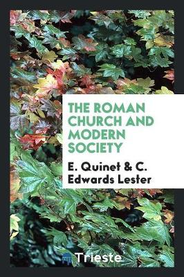 The Roman Church and Modern Society (Paperback)