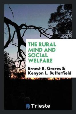 The Rural Mind and Social Welfare (Paperback)