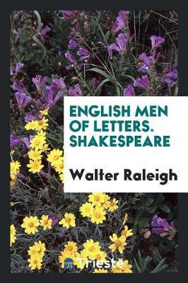 English Men of Letters. Shakespeare (Paperback)