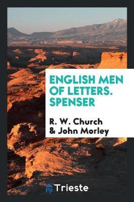 English Men of Letters. Spenser (Paperback)