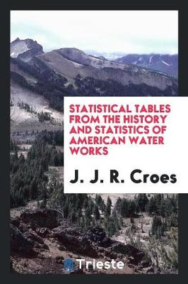 Statistical Tables from the History and Statistics of American Water Works (Paperback)