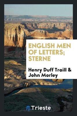English Men of Letters; Sterne (Paperback)