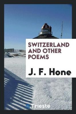 Switzerland and Other Poems (Paperback)