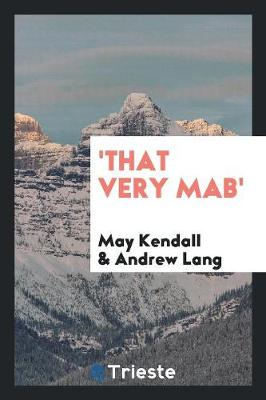 'that Very Mab' (Paperback)