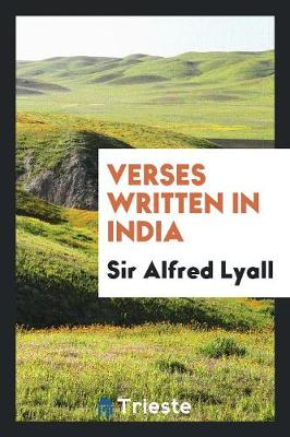 Verses Written in India (Paperback)