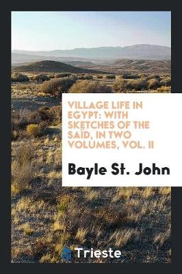 Village Life in Egypt: With Sketches of the Sa d, in Two Volumes, Vol. II (Paperback)