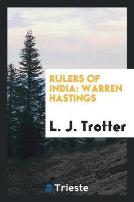 Rulers of India. Warren Hastings (Paperback)