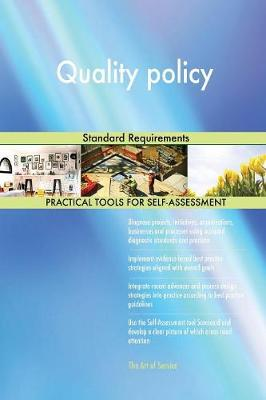 Quality Policy Standard Requirements (Paperback)