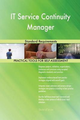 It Service Continuity Manager Standard Requirements (Paperback)