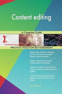 Content Editing a Complete Guide (Paperback)
