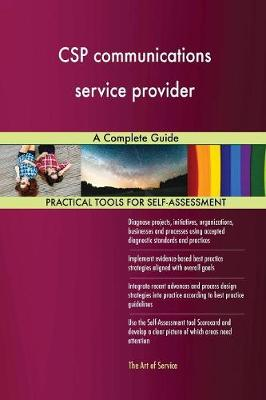 CSP Communications Service Provider a Complete Guide (Paperback)