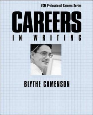 Cover Careers in Writing - Careers In! Series