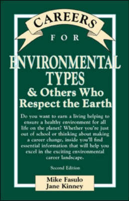 Careers for Environmental Types and Others Who Respect the Earth - Careers for You (Hardback)