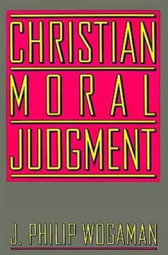 Christian Moral Judgment (Paperback)