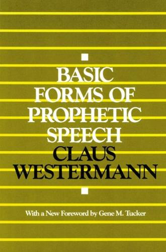 Cover Basic Forms of Prophetic Speech