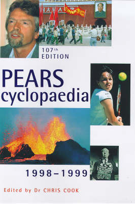 Pears Encyclopaedia: 1998-1999 (Hardback)