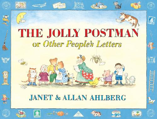 The Jolly Postman or Other People's Letters - The Jolly Postman (Hardback)