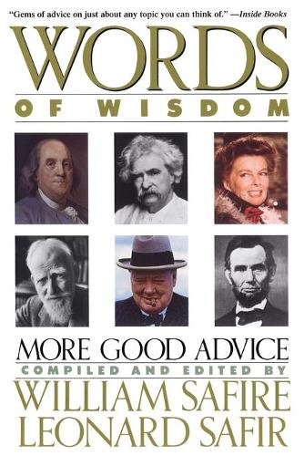 Words of Wisdom (Paperback)