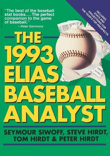 Elias Baseball Analyst 1993 (Paperback)