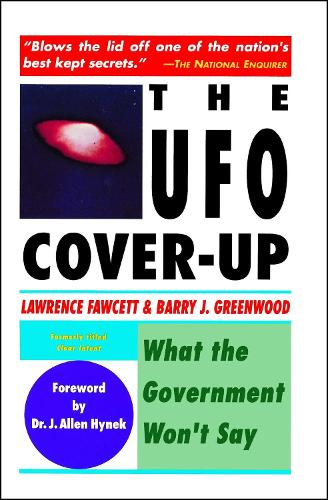 UFO Cover-up: What the Government Won't Say (Paperback)
