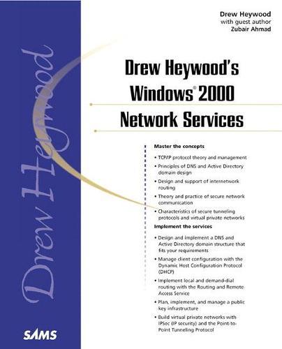 Drew Heywood's Windows 2000 Network Services (Paperback)