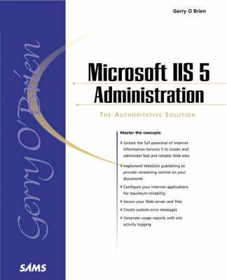 Microsoft IIS 5 Administration (Paperback)