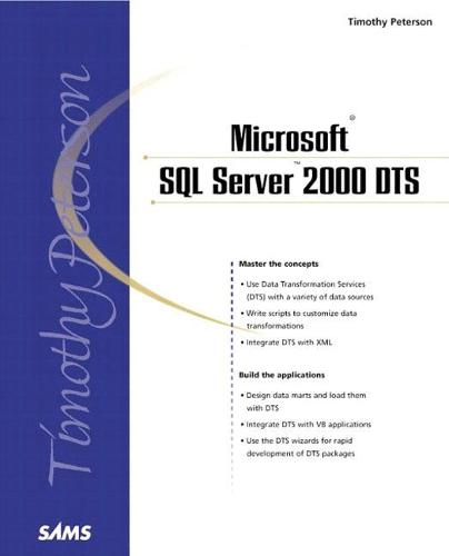 Microsoft SQL Server 2000 DTS [Data Transformation Services] (Paperback)