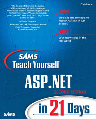Sams Teach Yourself Asp.Net in 21 Days (Paperback)