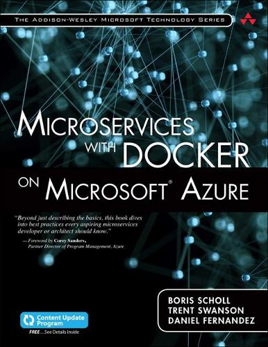 Microservices with Docker on Microsoft Azure (includes Content Update Program) (Paperback)