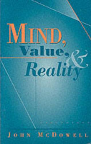 Mind, Value, and Reality (Paperback)