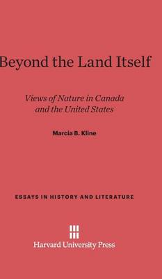 Beyond the Land Itself - Essays in History and Literature 1 (Hardback)