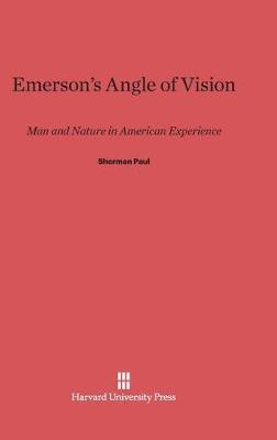 Emerson's Angle of Vision (Hardback)