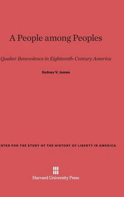 A People Among Peoples - Center for the Study of the History of Liberty in America 1 (Hardback)